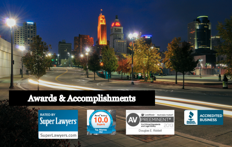 Cincinnati DUI attorney awards